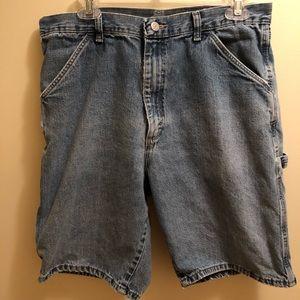 Men's Wrangler Blue Jean Shorts